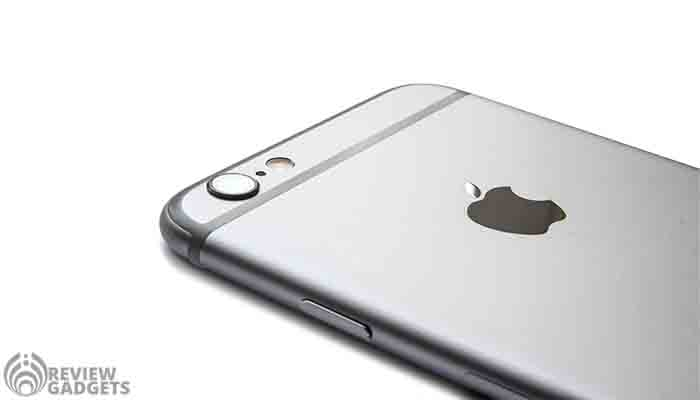 Apple Iphone 6 review, back view, rear view