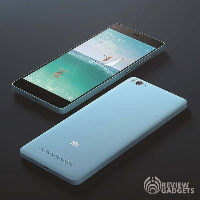 Xiaomi Mi4c Design and Look