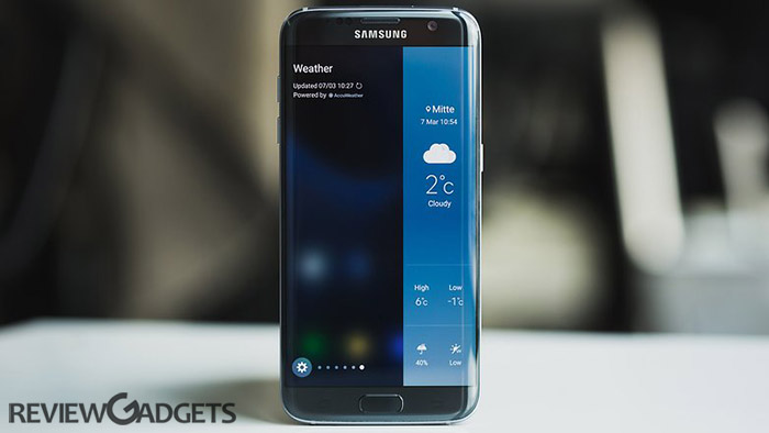Samsung Galaxy S7 Edge Review. Great display makes this phone best smartphone ever made by Samsung. Check Price in India, features, details, pros and cons