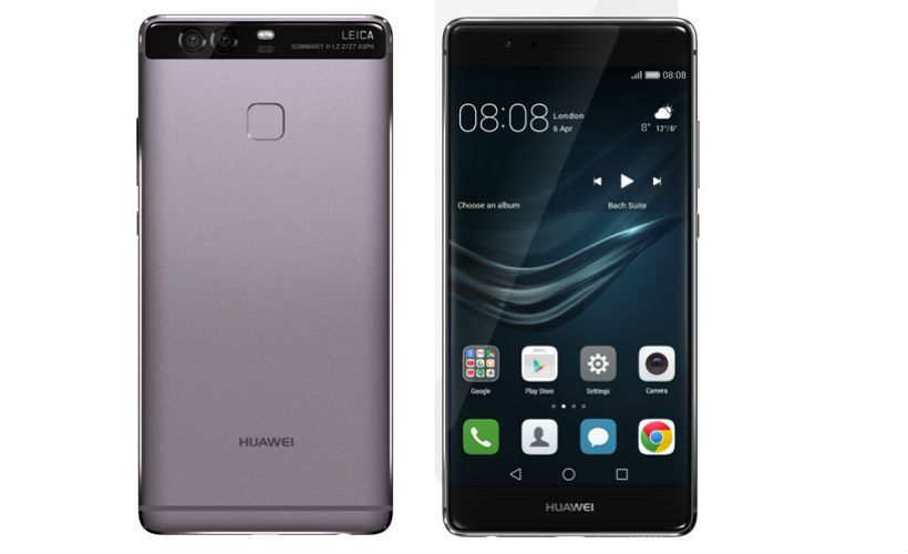Huawei P9 Back and front view