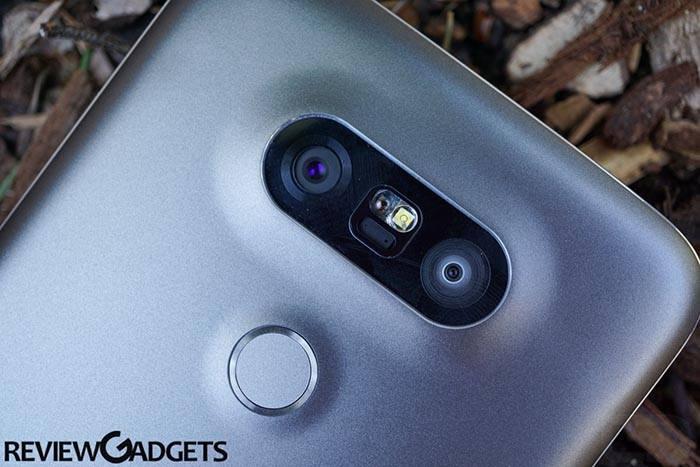 LG G5 Camera view