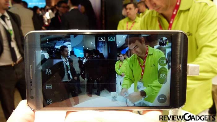 LG X Cam camera quality