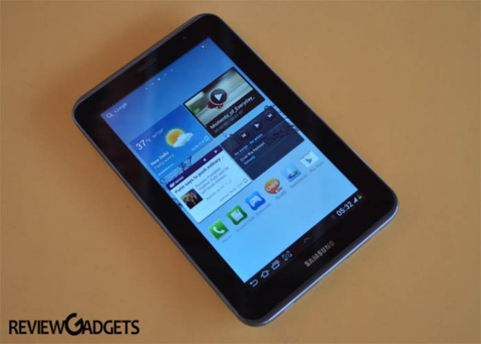 Samsung Made in India Tablet