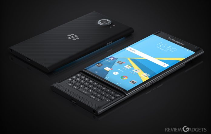 Blackberry android handset