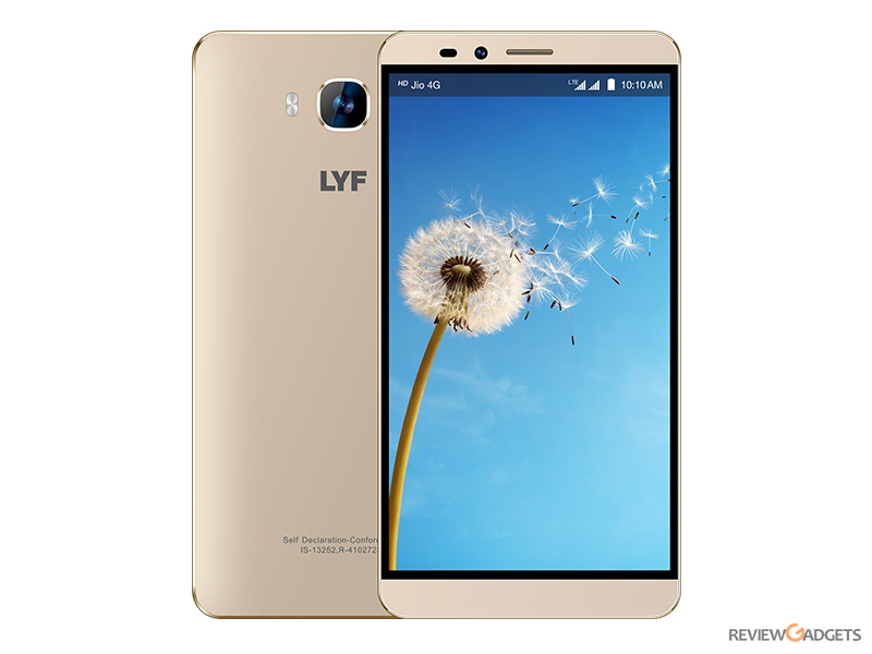 LYF Wind 2 launched at Rs 8299 with 4G LTE Connectivity and Android Lollipop